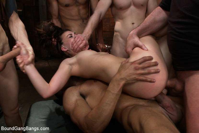 фото группового секса ганг банг