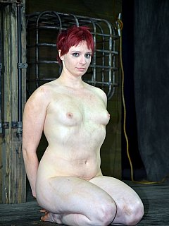 Nackt  Claire Adams Hogtied and