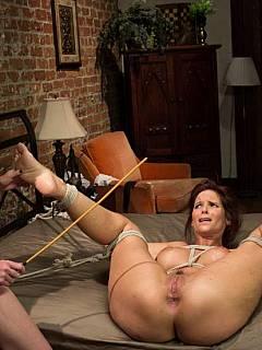 Milf syren demer punishes her stepson 6