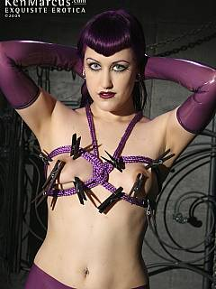 Goth Chick gets into a Little Bondage Fucking: Free