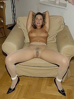 wide spread Bondage legs