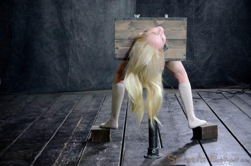 Naked boys and girls bondage lycra
