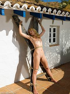 Sex through a split crotch panty girdle