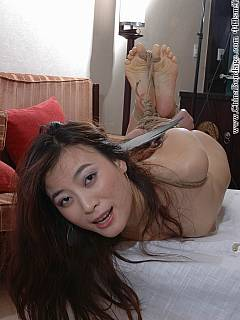Can defined? asian chick hog tied