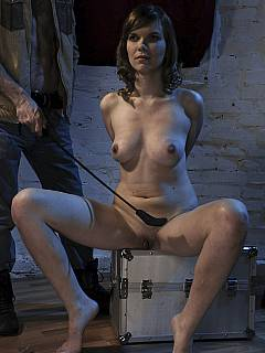 Can Naked women handcuffed prison