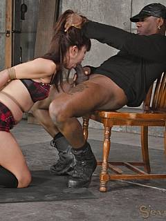 have missed big tit bbw wonder tracy sucks her first black cock for council how can