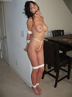 bound and helpless milf