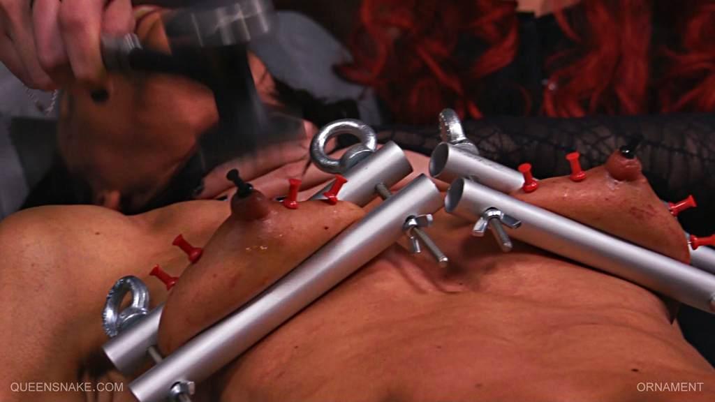 Pierced bdsm tubes