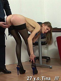 Stripping down office girls and using whip is an effective way of educating staff