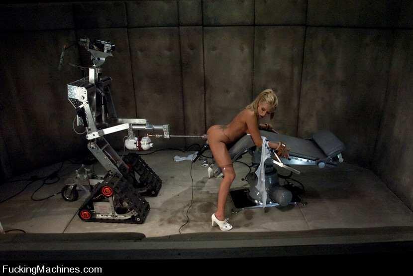секс с роботом фото