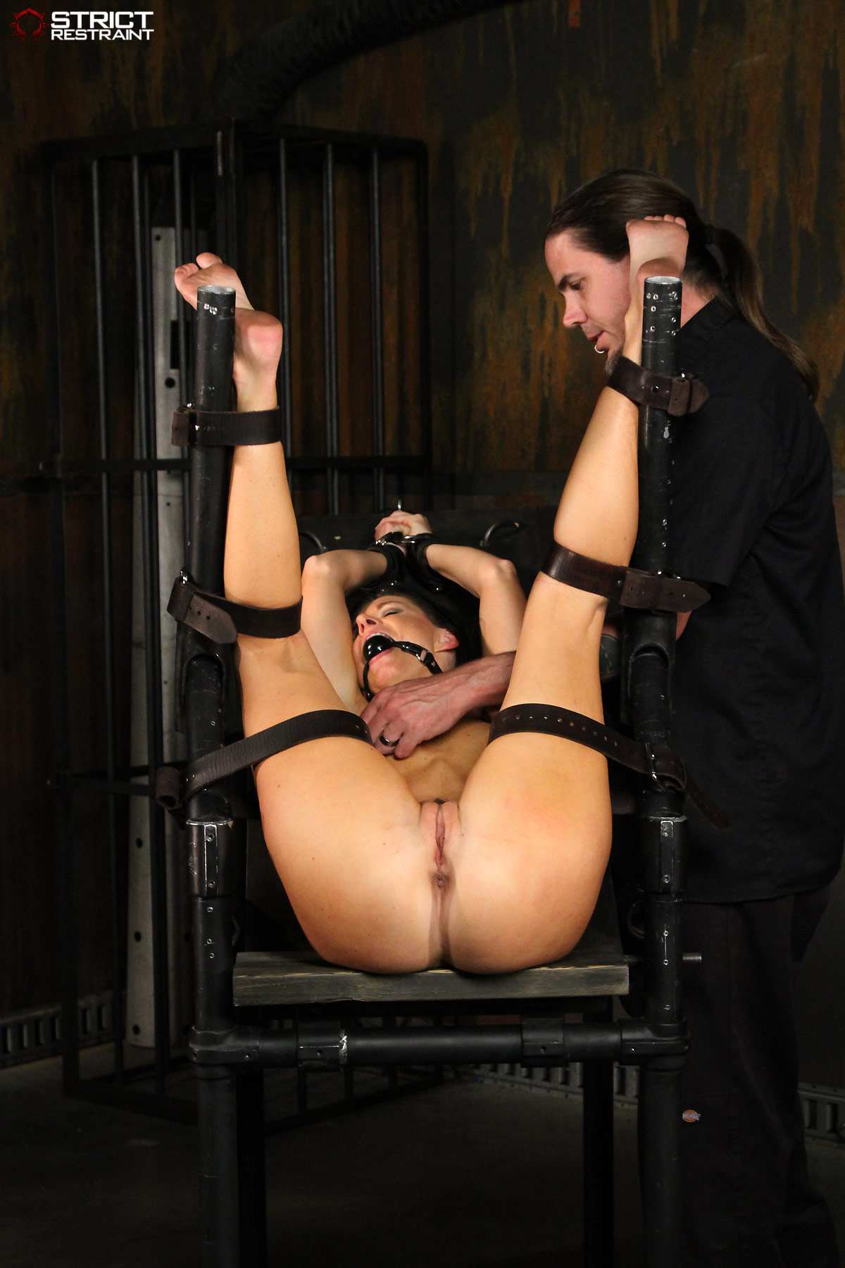 Bondage restraints and devices hentia image