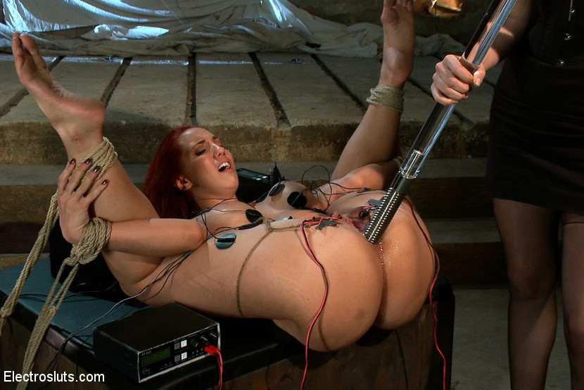Пытка электричеством. порно ролики